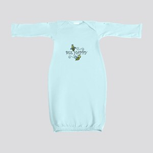 Bee Happy Baby Gown
