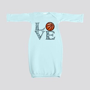 Love Basketball Baby Gown