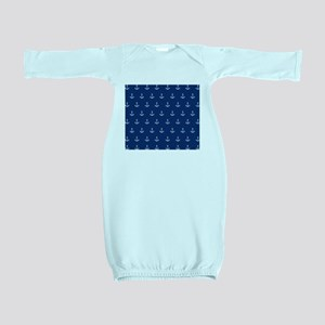 Nautical Elements Baby Gown