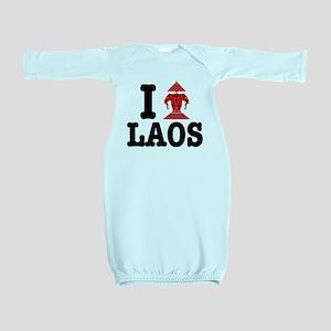 I Erawan (Love) Laos Baby Gown