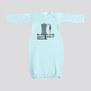 Obamacare (career, life support) Baby Gown