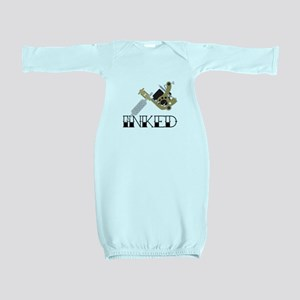 Tattoo Inked Baby Gown