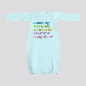 Amazing Daughter Baby Gown