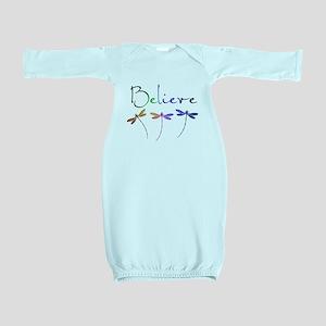 Believe...dragonflies Baby Gown