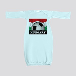 Hungary Football Baby Gown