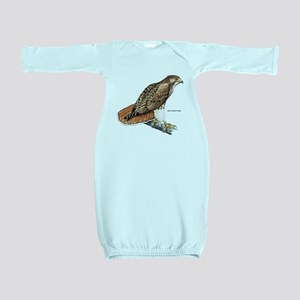 Red-Tailed Hawk Bird Baby Gown