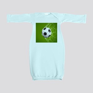 Football Goal Baby Gown