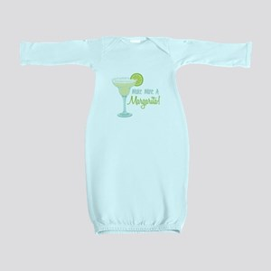 Make Mine A Margarita! Baby Gown