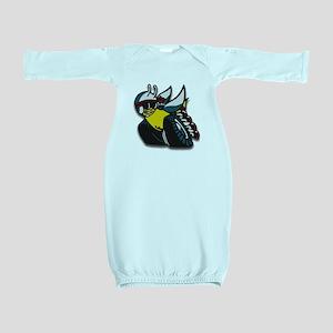 SUPER BEE Baby Gown