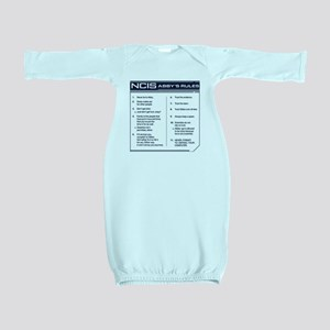 NCIS Abby's Rules Baby Gown