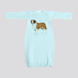 St. Bernard Dog Baby Gown