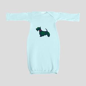 Scottish Terrier Dog Baby Gown