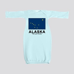 Alaska Flag Baby Gown
