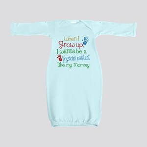 Physician Assistant Like Mommy Baby Gown