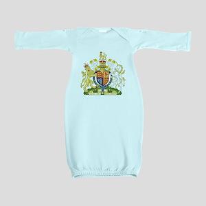 Royal COA of UK Baby Gown