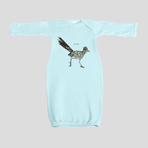 Roadrunner Desert Bird Baby Gown