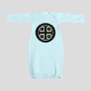 St. Benedict Medal Baby Gown