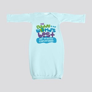 Air Traffic Controller Gifts For Kids Baby Gown