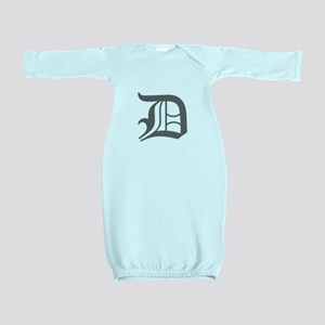 D-oet gray Baby Gown