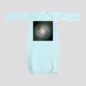 Star birth in galaxy NGC 4314 - Baby Gown