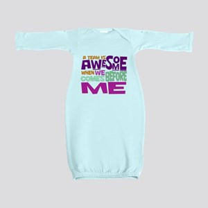 Funny office Baby Gown