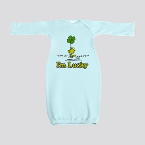 Peanuts Woodstock Lucky Baby Gown