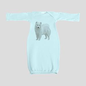 Samoyed-2 Baby Gown