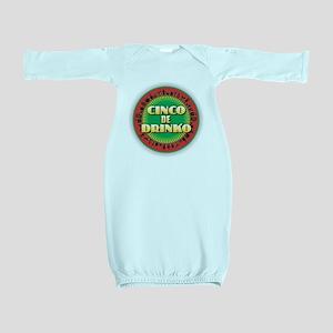 Cinco de Drinko Baby Gown