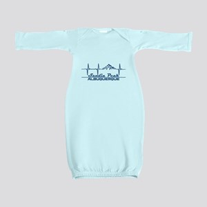 Sandia Peak - Albuquerque - New Mexico Baby Gown