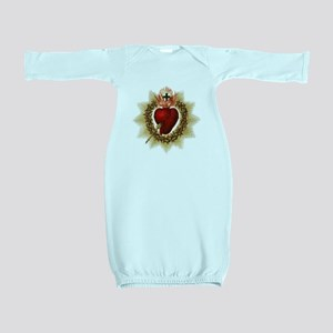 Sacred Heart Baby Gown
