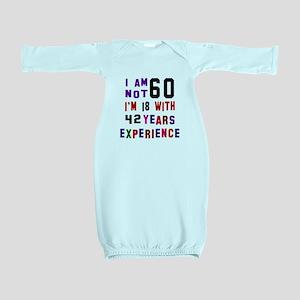 60 Birthday Designs Baby Gown