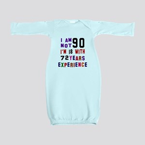 90 Birthday Designs Baby Gown