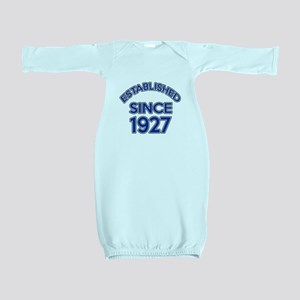 Established Since 1927 Baby Gown