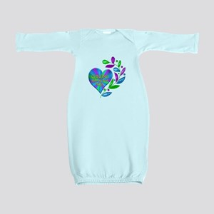 Quilting Happy Heart Baby Gown