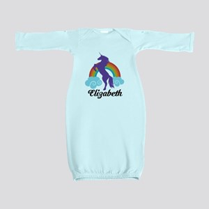 Personalized Unicorn Gift Baby Gown