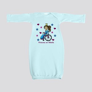 Princess on Wheels Baby Gown