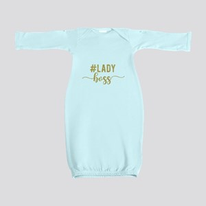 Lady Boss Gold Baby Gown