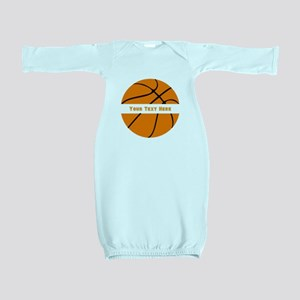 Basketball Personalized Baby Gown