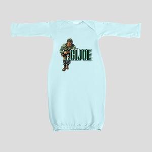 G.I. Joe Logo Baby Gown