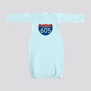 Interstate 605 - CA Baby Gown