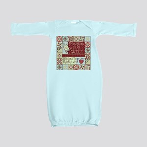 Quilting Friendships Baby Gown