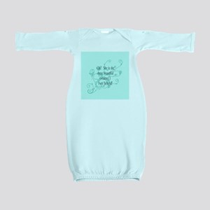 CafepressCoasterBea... Baby Gown