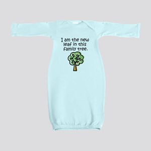 New leaf in family tree - Baby Gown