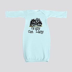 crazycatlady Baby Gown
