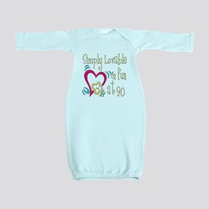 Lovable90 Baby Gown