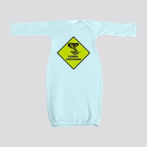 Cobra Crossing Baby Gown