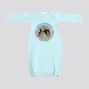 TruePatriotBears_RB copy Baby Gown