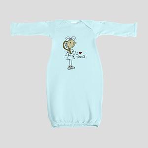 tennisgirlone Baby Gown