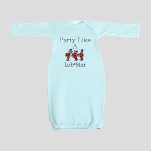 Lobstar Baby Gown