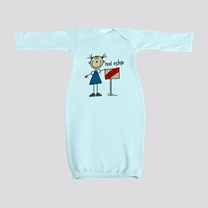 realestatestickfig Baby Gown